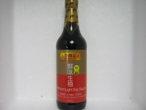 Sojasosse, hell, Lee Kum Kee, Premium, 500ml